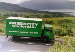 GreenCity delivery van